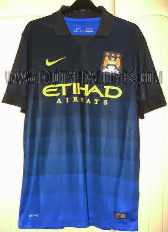 Jersey Away Manchester City 2014-2015