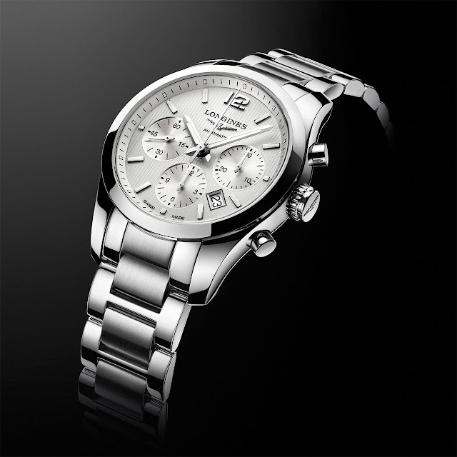 Longines Conquest Classic L2.786.4.76.6 Chronograph Watch