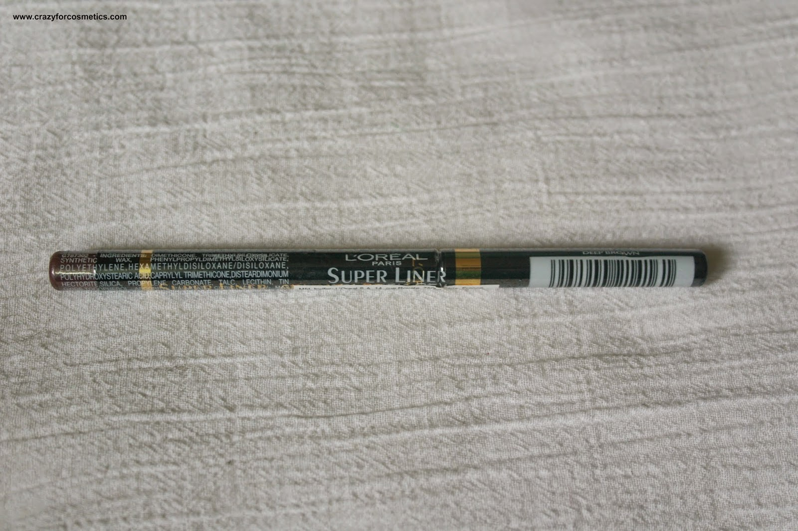 L'Oreal Paris Superliner Gelmatic Eyeliner in Deep Brown