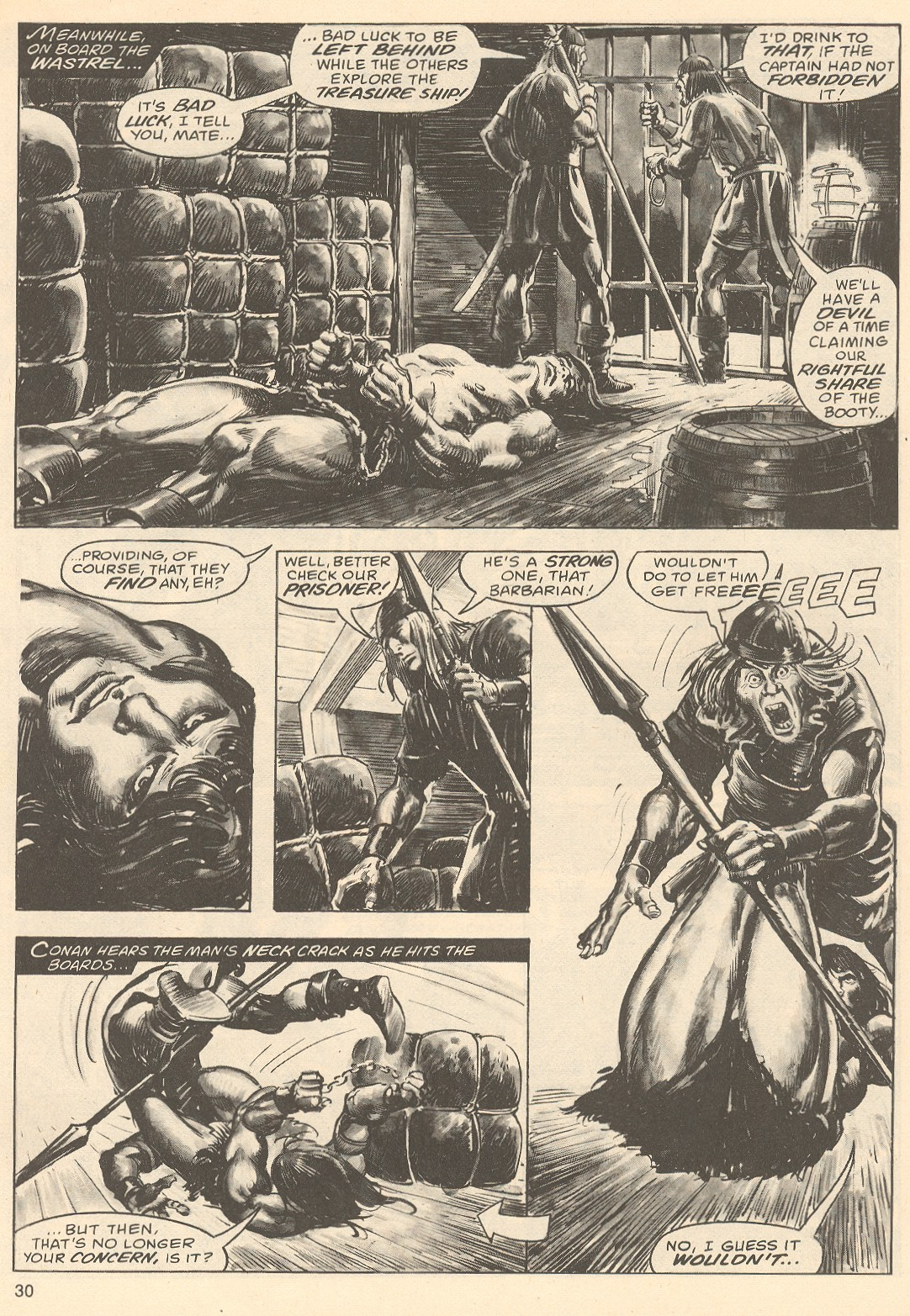 The Savage Sword Of Conan Issue #67 #68 - English 30