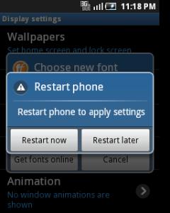 Cara Mengganti Font Di Handphone Android Tanpa Root