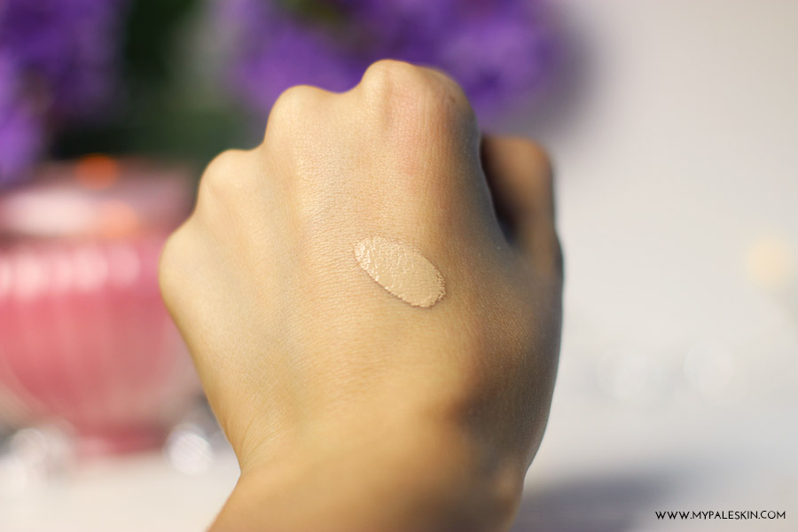 nars radiant creamy concealer, chantilly, pale test, my pale skin, concealers for pale skin, swatch, review