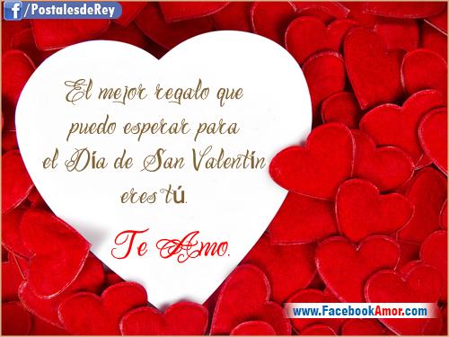 tarjetas romanticas para san valentin