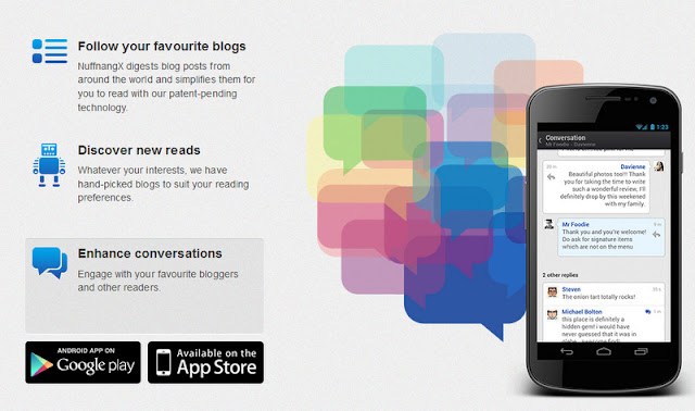 NuffnangX Social Blog Stalking Mobile App for Android and Apple OS