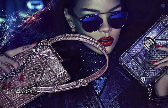 Rihanna la BadGal est la nouvelle égérie de Dior dans le Secret Garden IV