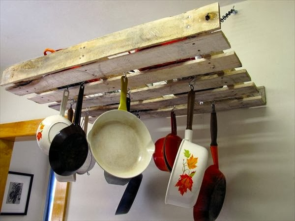 cucina ad isola in bancali riciclo creativo. cucina bambini realizzata ...