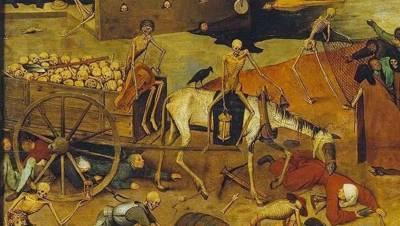 Fragmento de El triunfo de la muerte de Bruegel El Viejo