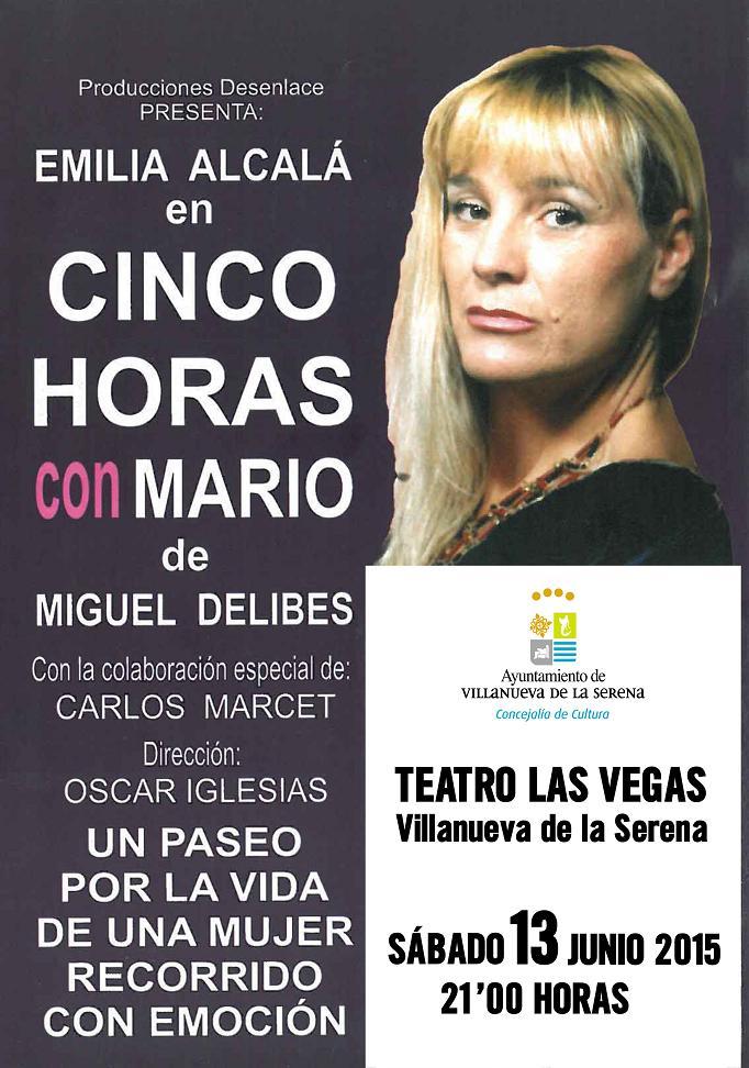 Teatro: CINCO HORAS CON MARIO