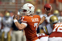 Garrett Gilbert is an ex-Longhorn.
