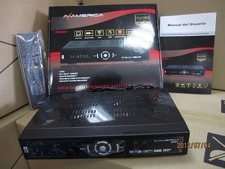 Atualização Az America s900+Clone 10/10/2012