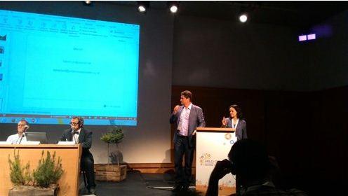 Jilmar Tatto e Suzana Nogueira apresentam projeto CicloviaSP 400 km em congresso na França