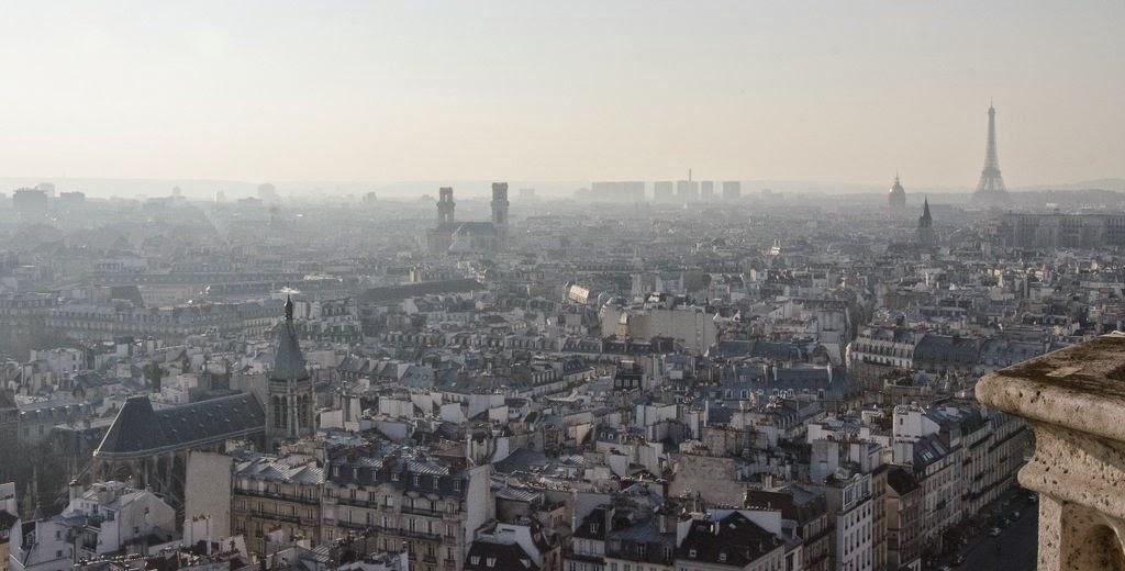 Paris - tours de Notre Dame