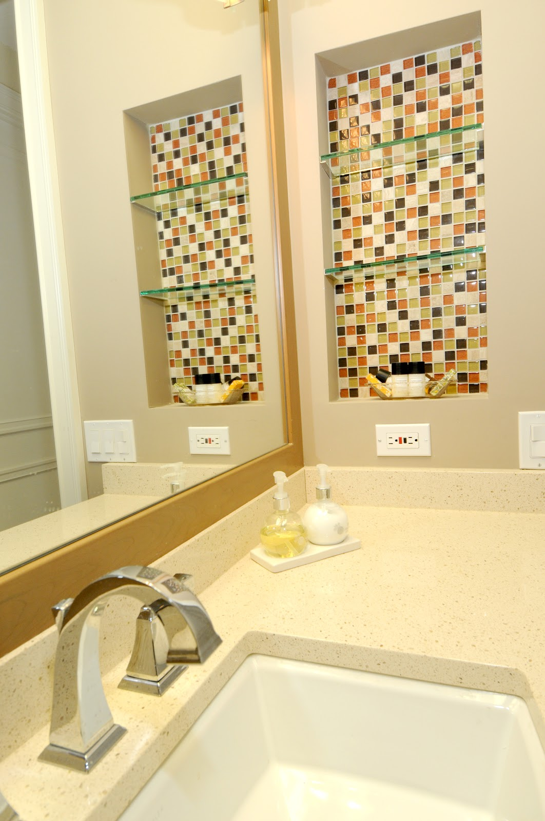 Remodel with abbie joan 8 great bathroom makeover ideas for Bathroom cabinet makeover ideas