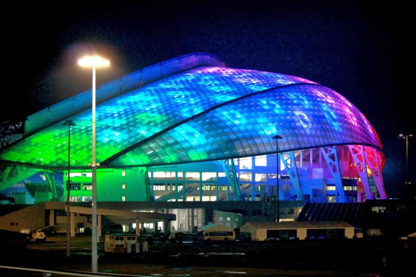 Sochi Olympic park venue 2014