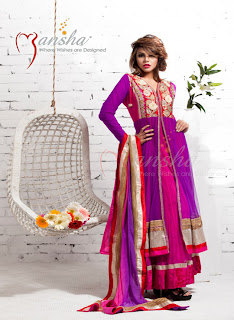 Mansha Spring-Summer Women's Dresses Collection 2013