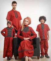 Gambar Baju Busana Muslim Batik Couple