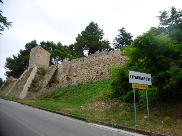 ripatransone ancient wall