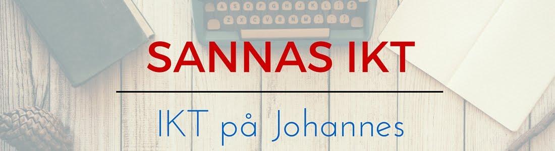 Sannas IKT: IKT på Johannes skola