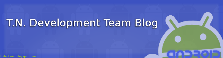 T.N.D.T. Blog - Active Android App Development Team
