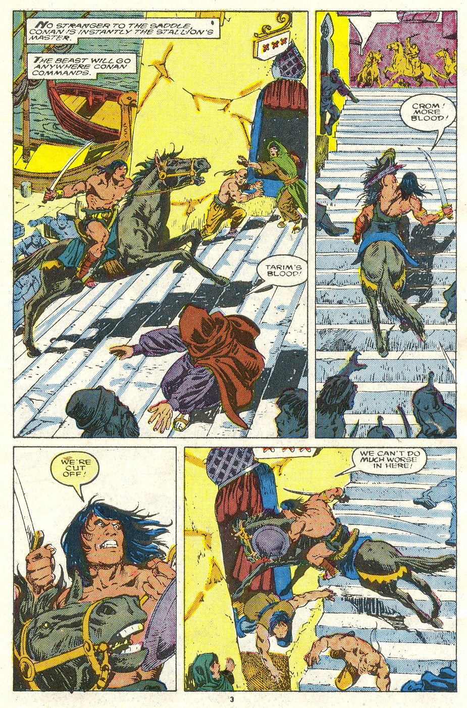 Conan the Barbarian (1970) Issue #219 #231 - English 4