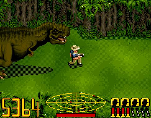 Jurassic Park (SNES video game) VGJUNK JURASSIC PARK SNES