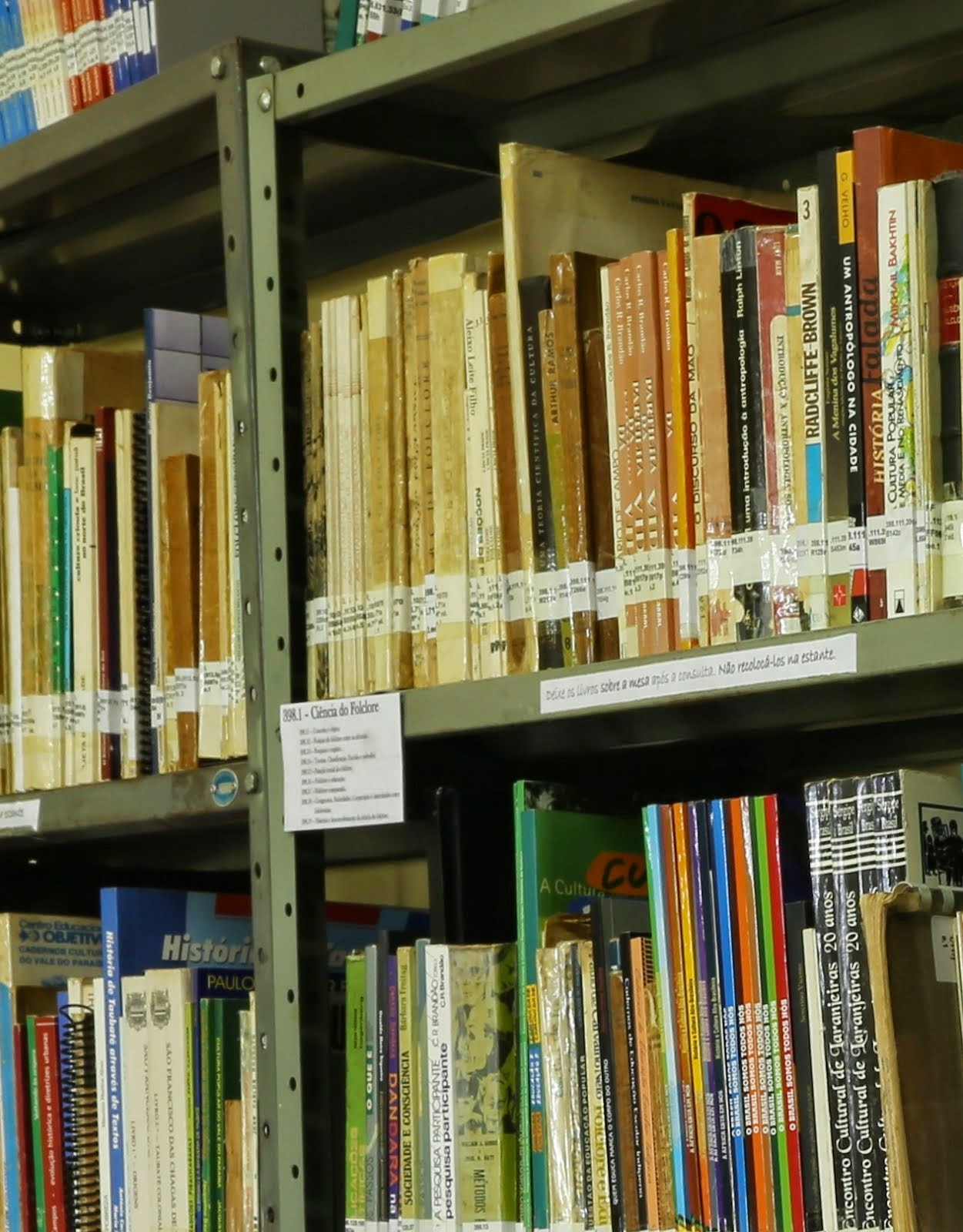 CONSULTE POR AQUI O ACERVO DA BIBLIOTECA DO MUSEU