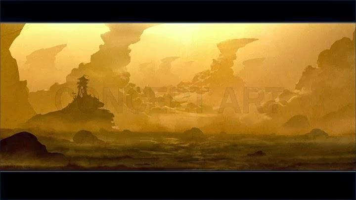 Concepts Arts de la película de Warcraft