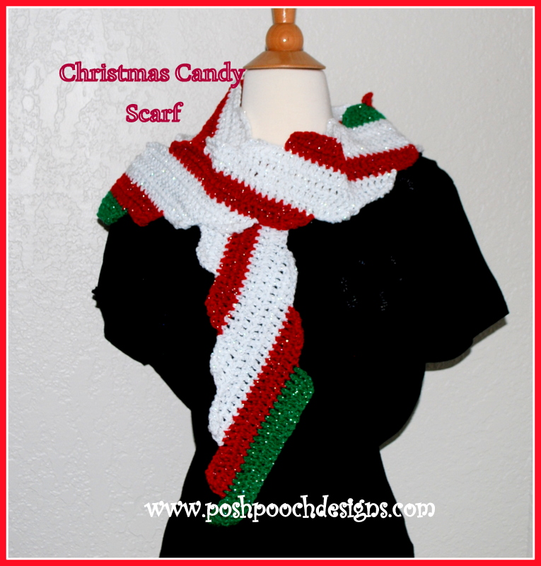 Free Knitting Patterns For Christmas Scarves : Posh Pooch Designs Dog Clothes: # 6 Christmas in July Free Pattern - Christma...
