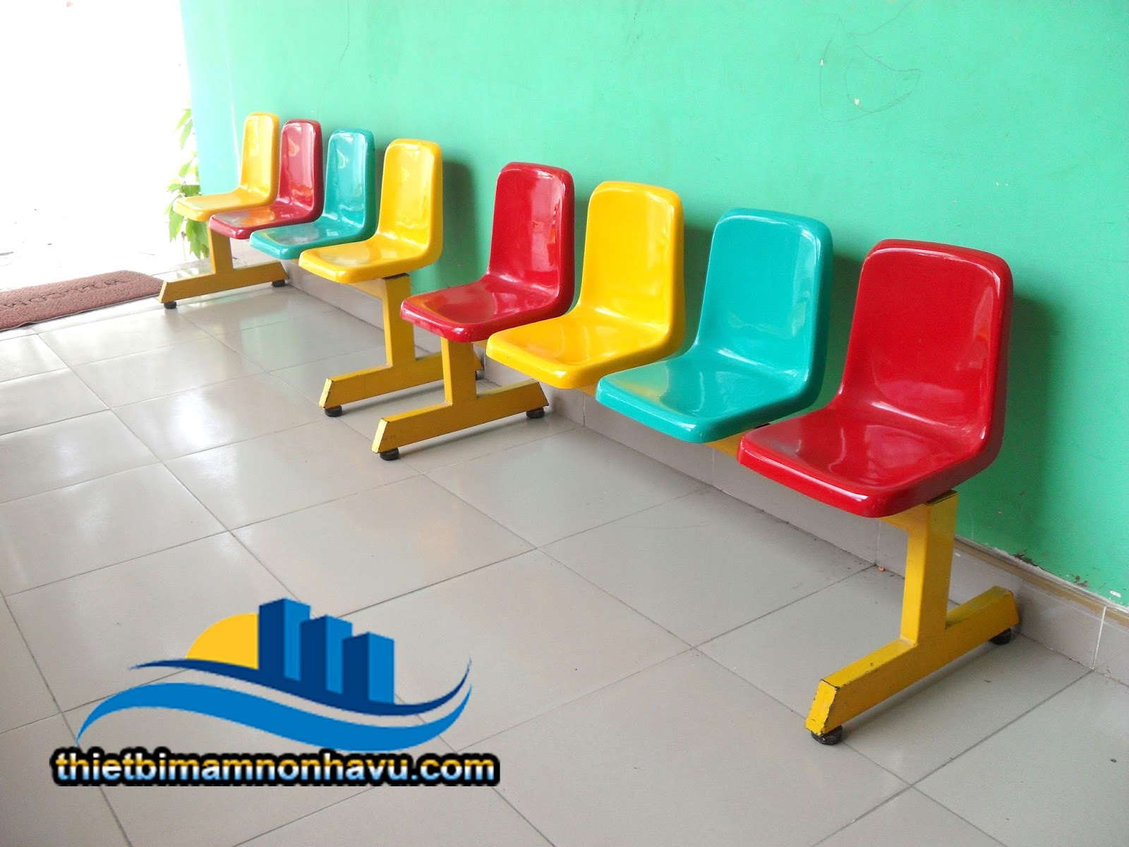 Ghế băng nhựa composite