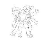 #5 Lucas Coloring Page