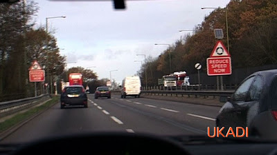 70mph dual carriageway on london driving test A1