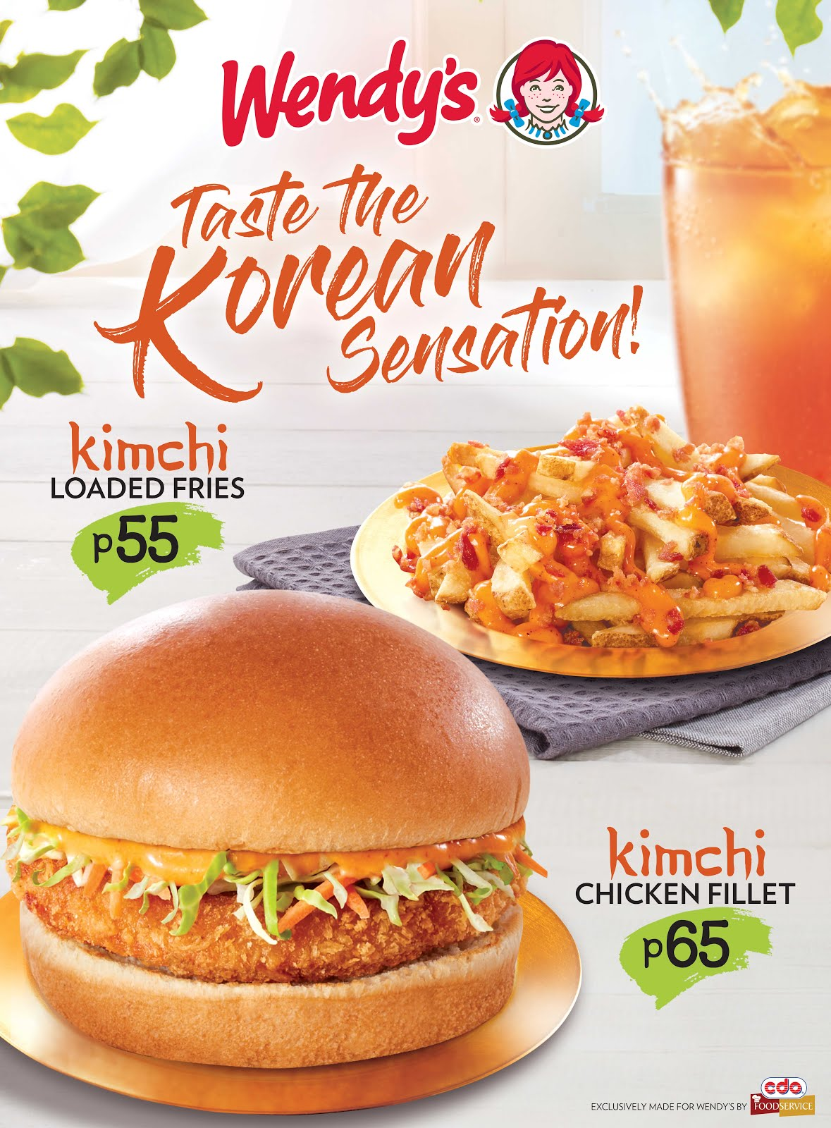 Taste the Korean Sensation at Wendy's