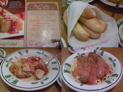 Olive garden never ending pasta bowl review 25 gift card giveaway for Olive garden endless pasta bowl