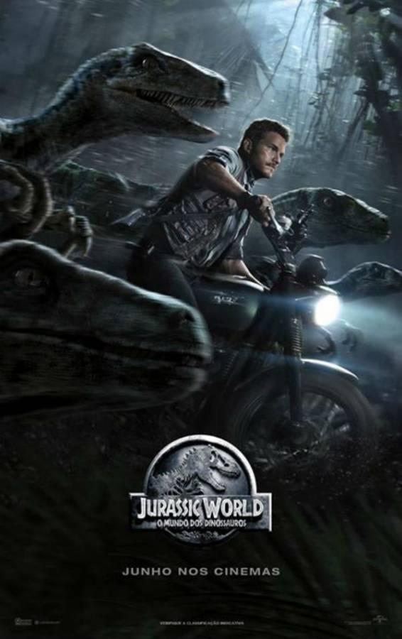 Jurassic World O Mundo dos Dinossauros BDRip Dublado