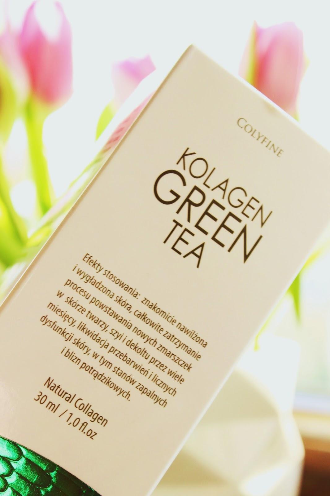 Colyfine Kolagen Green Tea