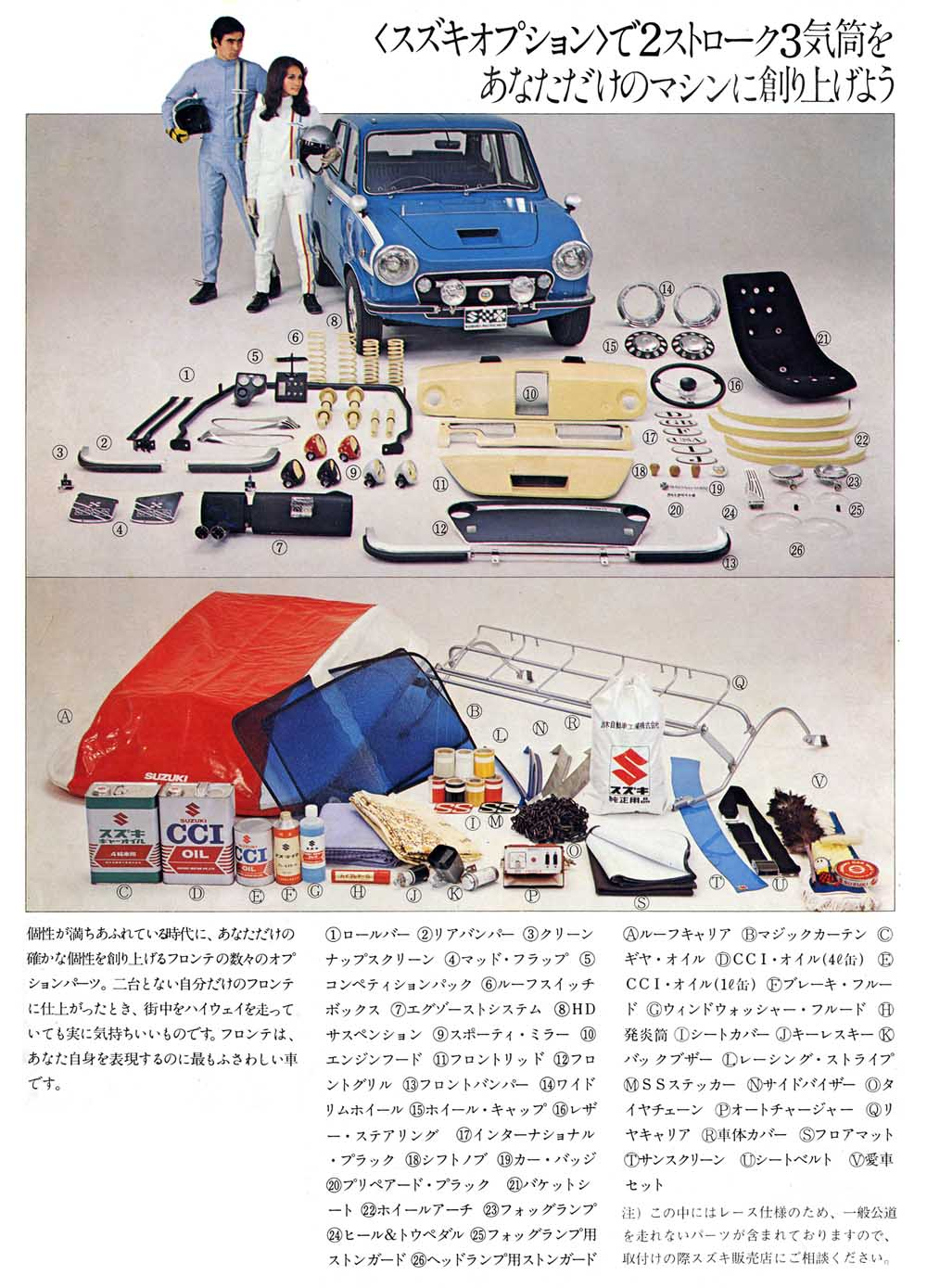 suzuki fronte 360, dawny tuning, modyfikacje klasyków, japońskie samochody, motoryzacja z lat 60