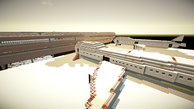 Airport on minecraft - Minecraft Metropolis