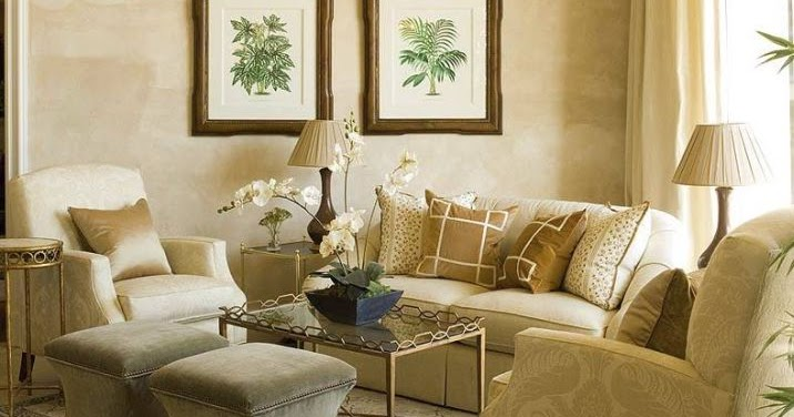 New home interior design more of phoebe howard collection - Salon brun et beige ...