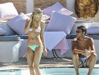 Kimberley Garner Pink Bikini Saint Tropez