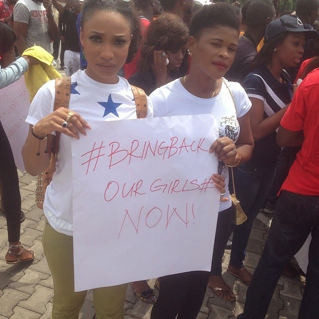 bring back our girls protest lagos