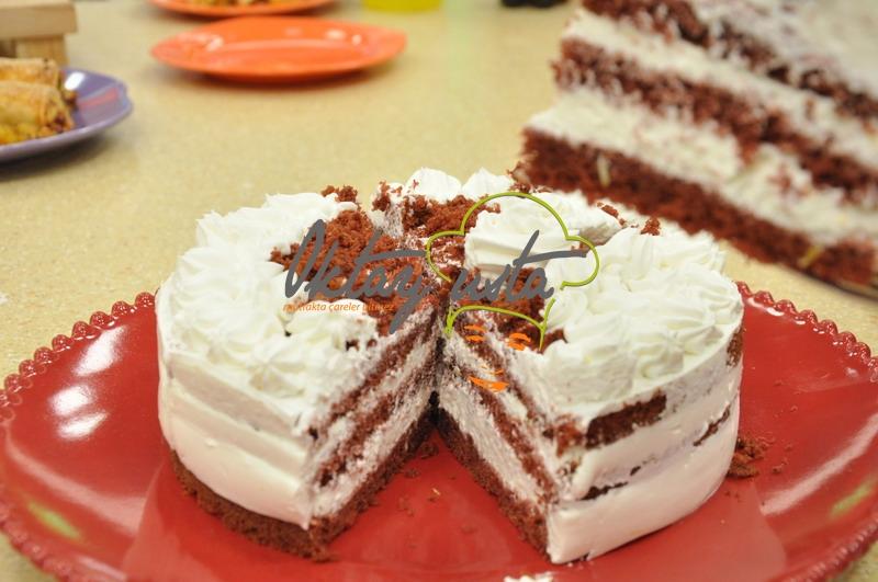 Kırmızı Kadife Pasta Kolay Pasta Tarifleri
