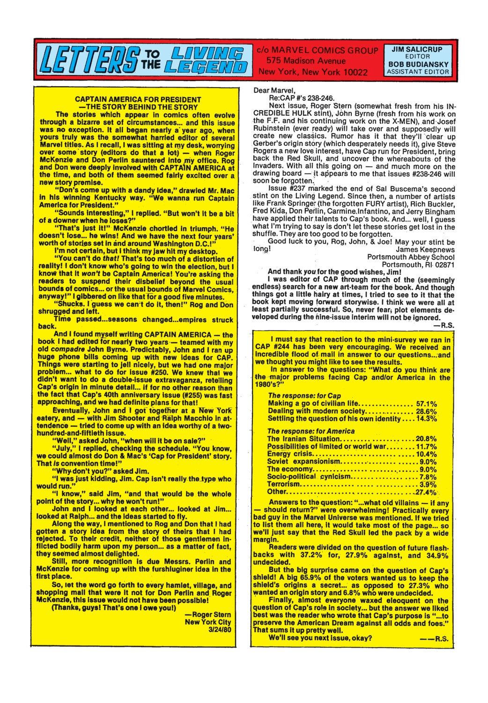 Captain America (1968) Issue #250 #165 - English 19