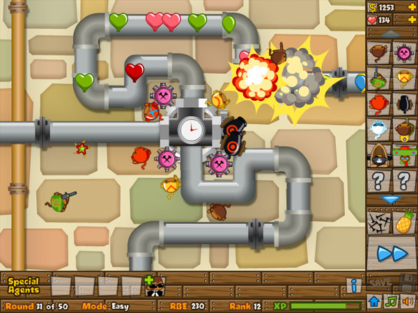 Bloons Tower Defense 5 screenshot 3