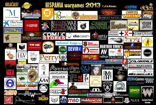 Logos HISPANIA wargames 2013