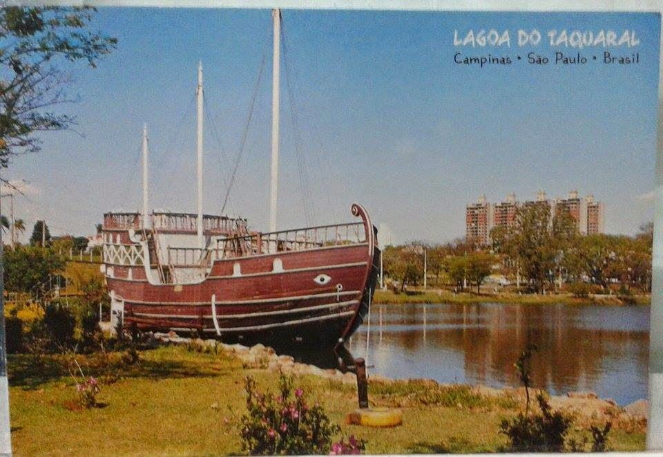 caravela da Lagoa do Taquaral - Campinas