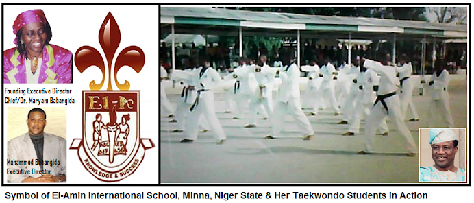 TAEKWONDO AT EL-AMIN INTERNATIONAL SCHOOL, MINNA, NIGER STATE,