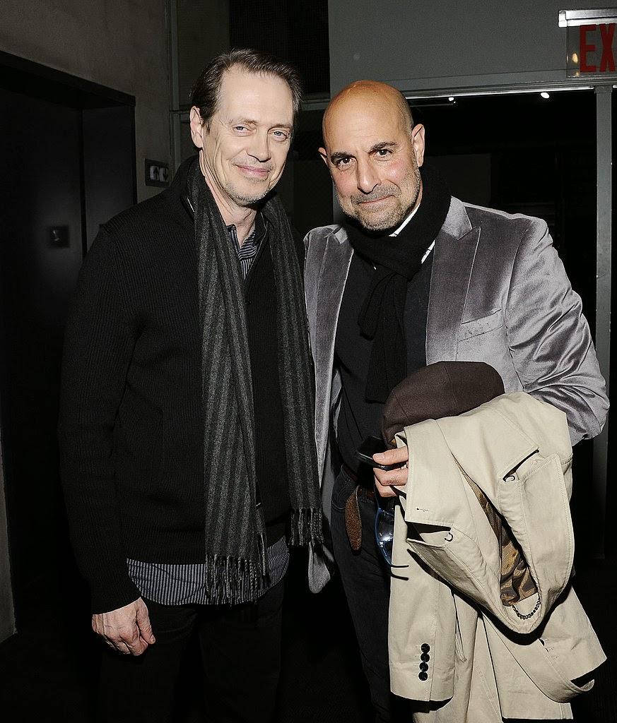 Steve Buscemi & Stanley Tucci, Rampart premiere