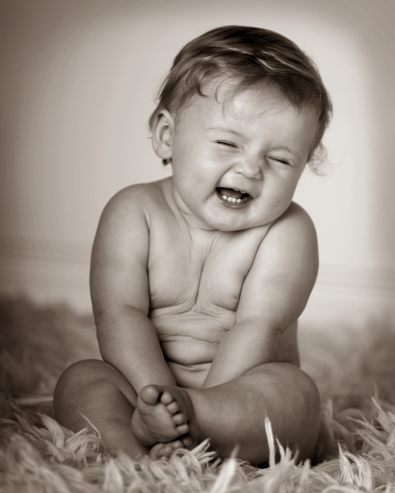 smiling star: cute expressions of babies