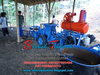 Pelatihan Dan Pengiriman Mesin Bata Merah Press Otomatis - Berkah Tekhnik