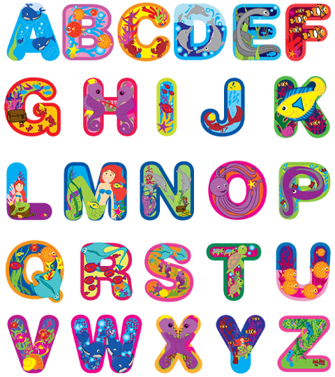 Did you like the alphabet song we sang last Friday? Well, here it is!
